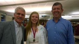 Dianna with Dad and Pastor Merv